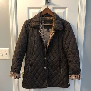 Quilted Authentic Coach Jacket